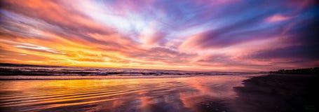 Oceanside odbicie Fotografia Royalty Free