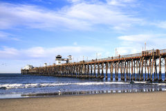 Oceanside Pier, Early Morning stock photos