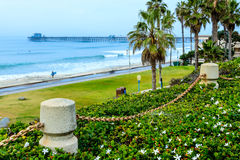 Oceanside Pier Royalty Free Stock Photo