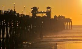 Oceanside Pier Royalty Free Stock Photo