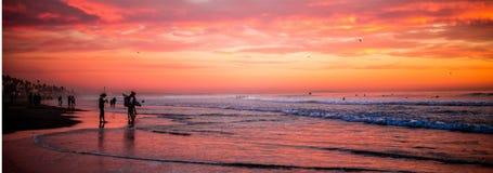 Oceanside zmierzch Obraz Royalty Free