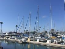 Oceansidejachthaven - Zuidelijk Californië Stock Afbeelding