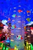 Oceanu świąteczny lampion zdjęcia stock