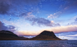 oceanu brzegowy wschód słońca Obrazy Stock