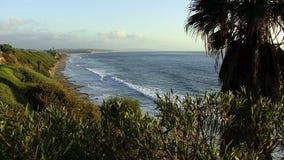 Oceanu CARDIFF Sceniczna plaża Kalifornia zbiory