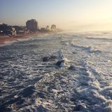 oceanu Durban umhlanga Fotografia Stock