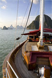 oceanu jacht Obrazy Royalty Free