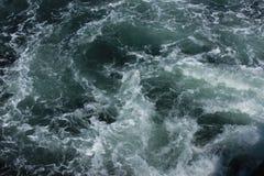 Oceanu kilwater Obrazy Stock