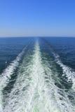 oceanu śladu kilwater Obrazy Stock