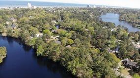 Oceanu Miami Florida denny las zdjęcie royalty free