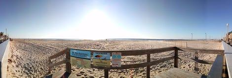 Oceanu miasta Boardwalk zdjęcie royalty free