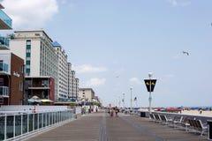 Oceanu miasto, Maryland obrazy stock