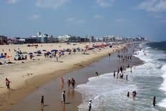 Oceanu miasto, Maryland obrazy royalty free