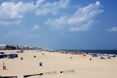 Oceanu miasto, Maryland obraz royalty free
