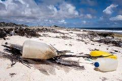 Oceanu śmieci zdjęcia royalty free