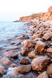Oceanu niewygładzony wybrzeże obrazy royalty free