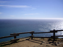 oceanu Pacific widok Fotografia Royalty Free