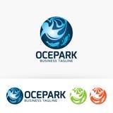 Oceanu park Zdjęcia Royalty Free