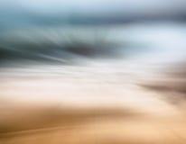 Oceanu piaska abstrakt Zdjęcie Stock