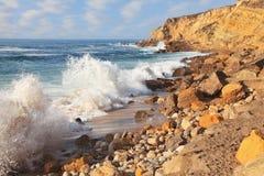 oceanu Portugal potężna sintra kipiel zdjęcie royalty free