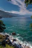 Oceanu przód, Puerta Vallarta, Meksyk Obrazy Royalty Free