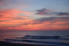 Oceanu ranek Obrazy Royalty Free