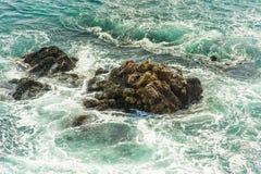Oceanu ` s fala Fotografia Stock