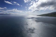 oceanu spokojnego niebo obraz royalty free