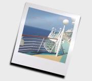 oceanu statku widok Fotografia Royalty Free