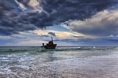 Oceanu Sygna setu chmura Obraz Stock