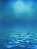 Oceanu tło Zdjęcia Stock