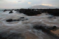 Oceanu upływ Obrazy Royalty Free