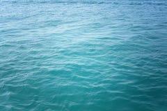 Oceanu wodny tło Zdjęcia Royalty Free