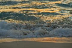 Oceanu wschód słońca Fotografia Royalty Free