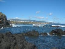 Oceanu wybrzeże Obraz Stock