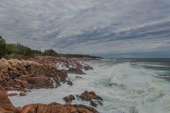 Oceanu wybrzeże Obrazy Royalty Free