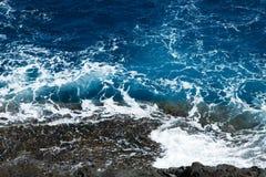 Oceanu wzór Zdjęcie Stock
