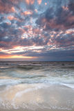 oceanu zmierzch Fotografia Stock