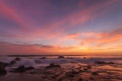 Oceanu zmierzch Zdjęcie Stock