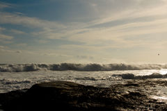 Oceanu zmierzch Obraz Stock