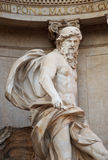 Oceanus, Trevi Fountain, Rome, Italy Stock Images