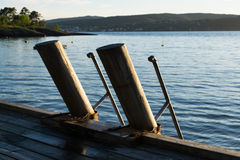 Oceanview στη Νορβηγία Στοκ Φωτογραφίες