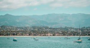Oceanview от побережья Калифорнии, Соединенных Штатов стоковое изображение rf