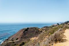 Oceanview de la costa de California, Estados Unidos Fotos de archivo