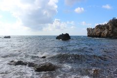 Oceanview Giglio 免版税库存图片