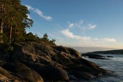 Oceanview in Norvegia Fotografia Stock