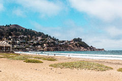 Oceanview van de Kust van Californië, Verenigde Staten Stock Foto's