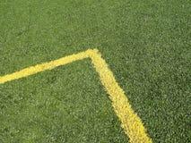 ocechowanie narożnikowa śródpolna piłka nożna Fotografia Royalty Free