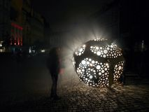 Ocelot από Cestmir Suska & Petr Pufler on το φεστιβάλ Πράγα σημάτων Στοκ φωτογραφίες με δικαίωμα ελεύθερης χρήσης