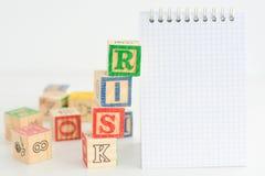 Ocena ryzyka lub plan gospodarowania Obraz Stock